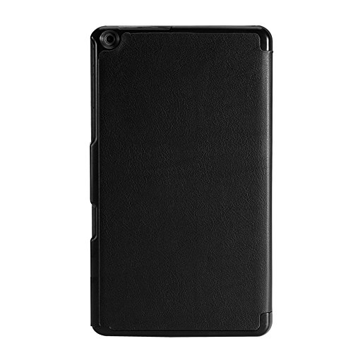 ACAMPTAR Slim Smart Cover Hülle Für Nvidia Shield K1 8-Zoll-Tablet (Schwarz)