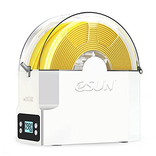 eSUN Caja Secadora de Impresora 3D Filamento, eBox Caja Almacenamiento de Filamento, Mantener Filamento Seco y Medir Filamento Peso, Compatible con Filamento de 1.75mm, 2.85mm y 3.00mm