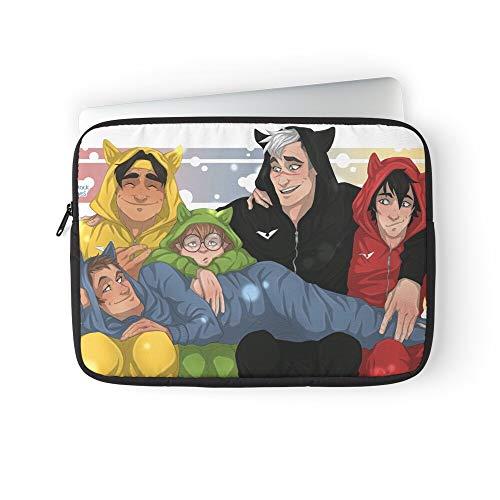 Vld Shiro Keith Fanart Voltron Mcclain Lance Laptop Sleeve Case Cover Handbag for MacBook Pro/MacBook Air/Asus/Dell/Lenovo/Hp/Samsung/Sony Etc.