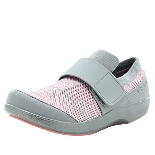 Alegria TRAQ Qwik Womens Smart Walking Shoe Pink Multi 9 M US