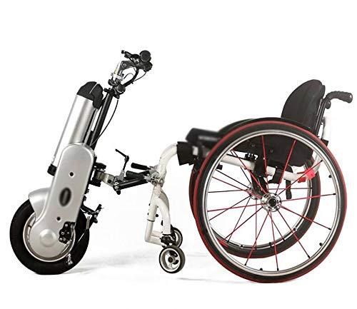 BTHDPP Zuggerät Elektrorollstuhl 12'' 36V 400W 12Ah Lithium-Ionen Akku Elektrischer Rollstuhl ,Handcycle Wheelchair