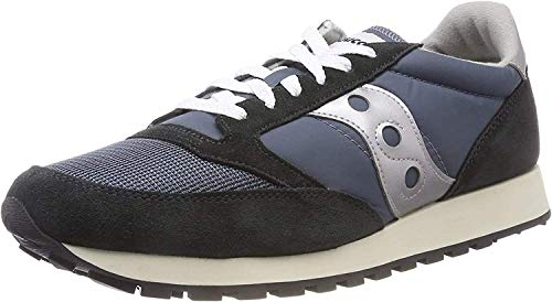 Saucony Jazz Original Vintage, Zapatillas de Cross Unisex Adulto, Azul (Blue/Navy/Silver 4), 45 EU