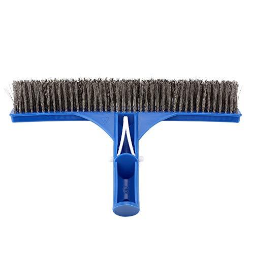 Cepillo para Piscinas de Acero Inoxidable Cepillo de Limpieza para Piscinas de...