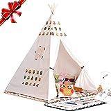 Yunt Zapatos de Kids Indian Teepee Juega Tent for Girls and Boys decoración para niños