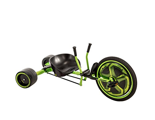 Huffy Green Machine Kids Trike for Ages 8+ Years, Drifts and Spins