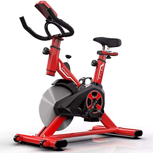 YUHT Bicicleta estática para Interiores con Pantalla LCD, r