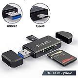 YoSuDa Speicherkartenleser Micro SD Card Reader,USB Type C OTG Adapter für Samsung...