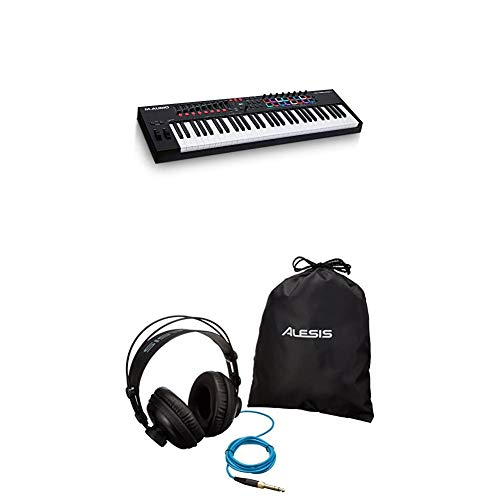 M-Audio Oxygen Pro 61 + Alesis SRP100 - Teclado controlador MIDI USB...