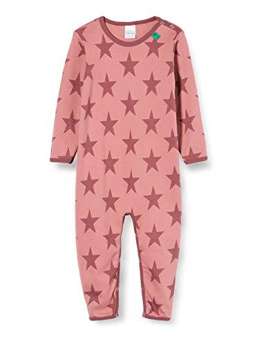 Fred'S World By Green Cotton Star Bodysuit Body, Rouge (Dream Rose 018143501), 95 (Taille Fabricant: 80) Bébé Fille
