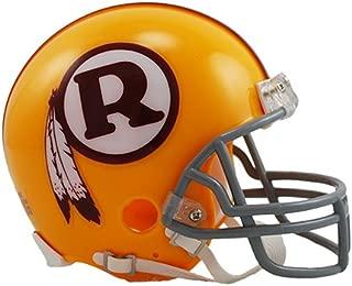 Washington Redskins 1970-1971 Yellow Throwback Riddell Mini Football Helmet - New in Riddell Box