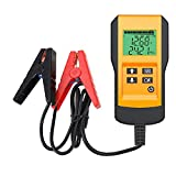 Coogstore Digital 12V Car Battery Tester Automotive Battery Load Tester and Analyzer of Battery Life Percentage,Voltage, Resistance and CCA Value