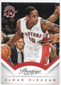 DeMar DeRozan 2013 14 Prestige Toronto Raptors Card 100 product image