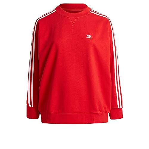 adidas Sweatshirt Suter Pulver, Scarlet, 5XL para Mujer
