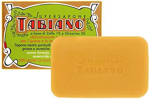Savon italien contre Psoriasis & Eczéma, Anti-Acné - Supersapone Tabiano