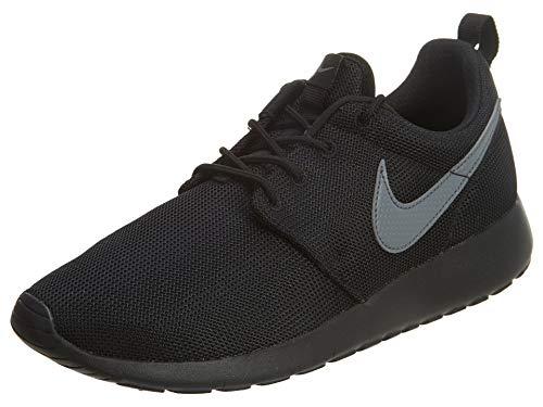 Nike Roshe One (gs), Unisex-Kinder Hallenschuhe, Schwarz (Black/Cool Grey), 36.5 EU