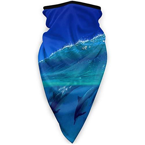 Dolphin Peak Bandana de sport coupe-vent pour homme et femme