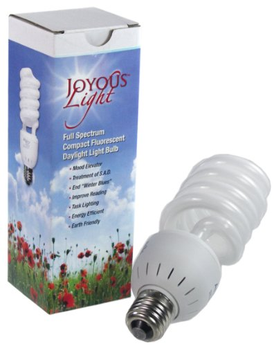 ALZO 27W Joyous Light Full Spectrum CFL Light Bulb 5500K, 1300 Lumens, 120V, Daylight White Light