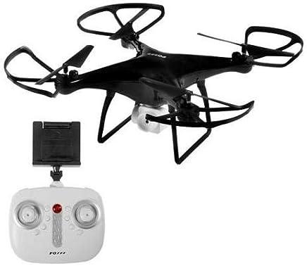 Drone Fq33 Fq777 Fpv Wifi Visualização Ao Vivo Altitude Hold Preto