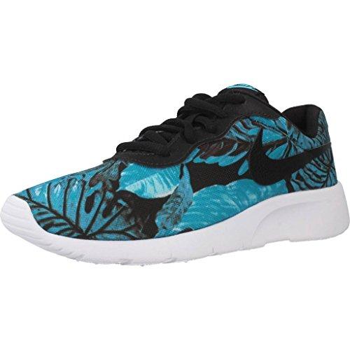 Calzado deportivo para mujer, color Azul , marca NIKE, modelo Calzado Deportivo Para Mujer NIKE TANJUN PRINT Azul