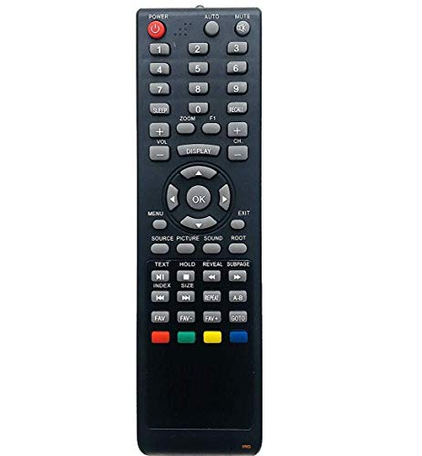 VNQ® Remote Compatible with VU/Lloyd/INTEX/Star/FUTEC/BPL Genus/LED TV LED -(Please Match The Image with Your Old Remote Before...