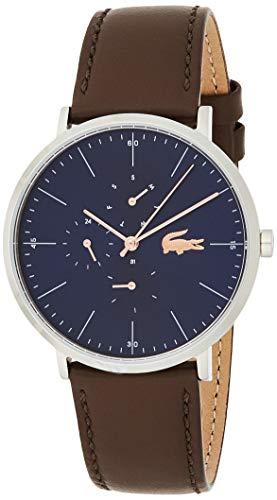 Lacoste Herren Multi Zifferblatt Uhr Classic mit Leder Armband