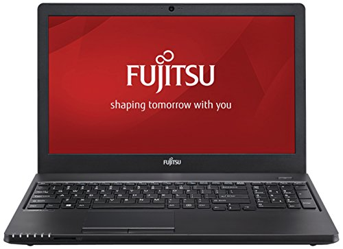 Fujitsu LIFEBOOK A555 39,6 cm (15,6 Zoll) Laptop Full HD, AMD Radeon R7 M260 (Intel Core i5-5200U bis zu 2,70 GHz, 8GB, 256GB SSD, Windows 8.1) schwarz