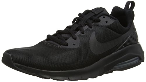 Nike Herren Air Max Motion LW (GS) Laufschuhe, Schwarz (Black/Black/Black 001), 38.5 EU