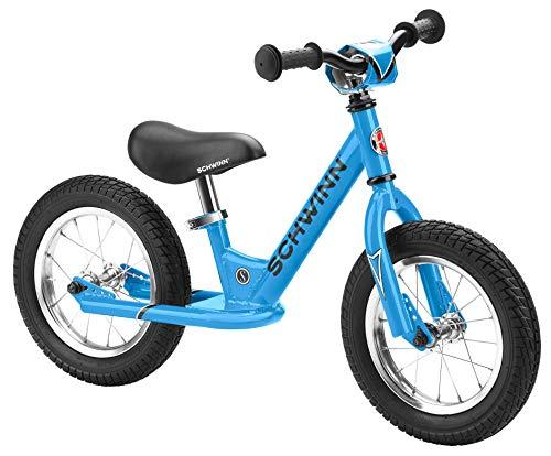 Schwinn Skip 1 Toddler Balance Bike, 12-Inch Wheels, Beginner Rider Training, Blue