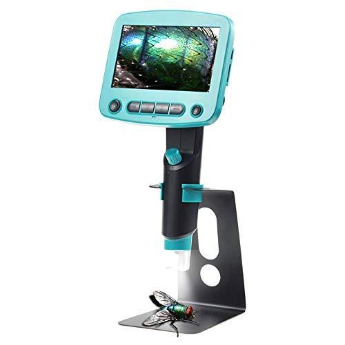 LHQ-HQ 800X 4.3 Pantalla LCD microscopio Digital de Alto Brillo 8 LED portátil USB microscopios de Soldadura Mikroskop Lupa