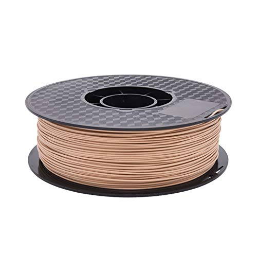 0.2/0.5/1.0kg Wooden Wood Plastic Material PLA, 1.75mm 3D Printer Consumables, Wood Textured Fibre Wire, Corrosion Resistant, Humidity Resistant (Color : 200g)