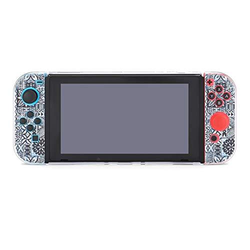 Funda protectora para Nintendo Switch, estilo hawaiano, funda duradera para Nintendo Switch y Joy Con