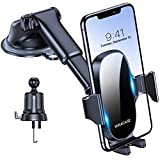 Miracase 4-in-1 Cell Phone Holder for Car, Universal Car Phone Holder Mount for Dashboard Air Vent Windshield Compatible with iPhone 11 Pro Max/SE/XR/XS/8 Plus/Samsung S20 Ultral/Note 10 & All Phones car holder for i phone 6 plus Jan, 2021