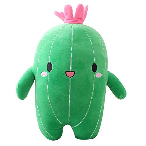 Kaktus Plüsch,Kuscheltier Grün Kaktus Plüschtiere Puppe Kaktus Plüschtier Kaktus Plüsch Spielzeug für Jungen Mädchen Geburtstagsgeschenk (25cm)