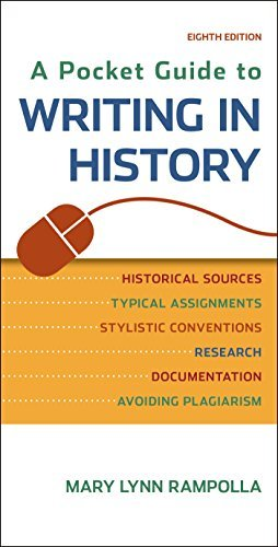 A Pocket Guide to Writing in History by Mary Lynn Rampolla (2015-01-16)