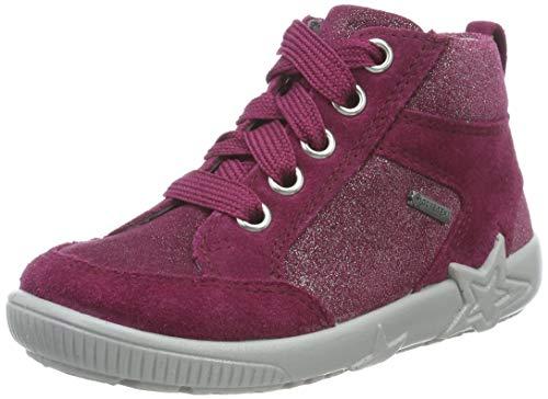 Superfit Baby Mädchen Starlight Gore-Tex Sneaker, Rot (Rot 50), 23 EU