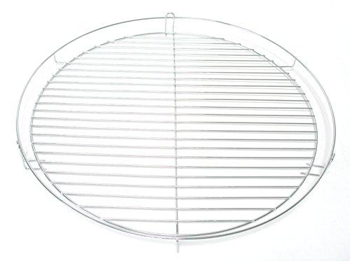 HESANI TOP Qualität 50 cm Chrom Grillrost verchromt rund Grill Rost Grillgitter GmbH