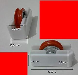 Micel O Similar 1 Rueda O Rodamiento para Ventana P1 Blanca