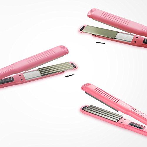 Shuangklei Des Cheveux Bouclés Double Emploi Lisseur Coiffure Beauté Outil Perm Nouveau Hot Vente Aucun Préjudice