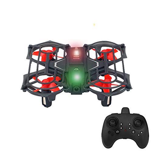 Mini Drones para Niños Y Principiantes 2.4G 6 Axis 3D Flips Sensando Control Remoto Quadcopter Helicóptero para Niños Mini Drones Juguetes,Button Model