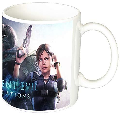 Resident Evil Revelations Jill And Chris Tazza Mug