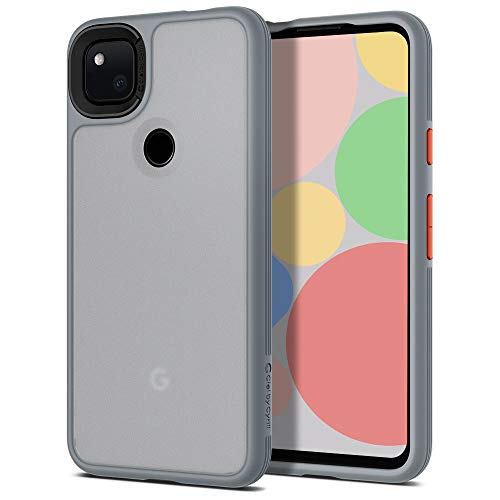 CYRILL Color Brick Designed for Google Pixel 4a Case (2020) - Gray
