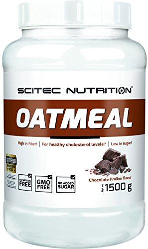Scitec Nutrition Oatmeal, Gainer, Praline al cioccolato, 1500 g