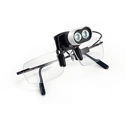 ESCHENBACH ヘッドライトLED 眼鏡用クリップタイプ 1604-22
