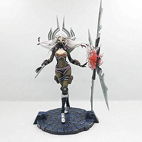 NoNo Kinder Anime Geschenke Anime Figur Irelia Spiel Charakter Modell Figur Handgemachte Statue Kinderspielzeug Geschenk 23CM
