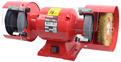 Mader Power Tools 73503 Amoladora de Banco Eléctrica 350W, 150 mm
