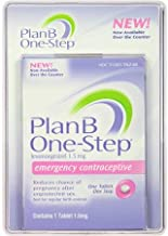 Plan B One-step Emergency Contraceptive 1 Tablet,1.5 mg by Plan B (Original Version)
