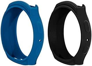 BeneStellar 2 Colors Samsung Gear S2 Case Cover, Silicone Band Case Cover for Samsung Gear S2 (S2 SM-R720 / SM-R730 ONLY) Smart Watch