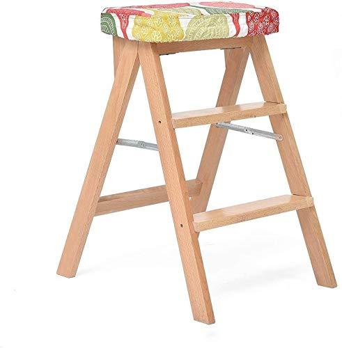 Taburete plegable fino robusto Escalera de escalera para escalera de escalera de escalera de escalera, escalera de escalera, escalera de escalera, escalera de escalera, área de asientos extendidos par