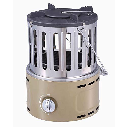 Generic002 Multifuncional Calentador de Gas, Gas Natural Licuado de Petróleo Calentador, Mini Cocina de Gas portátil, Multifuncional hogar Grill (Color : A)