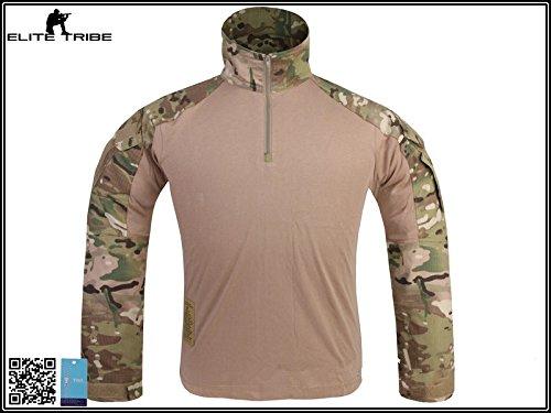 Menschen Militär Paintball Kriegsspiel Oberteile Kampf Gen3 Taktisch Hemd Multicam MC (L)